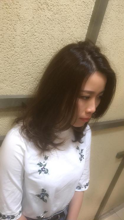 すこーしのブラウングラデーション トレボー永山所属・フジタレンのスタイル