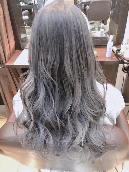 ♥︎祝内定者♥︎💐黒染めして1回のブリーチじゃ無理な髪色にしたい方へのトリプルカラー💐