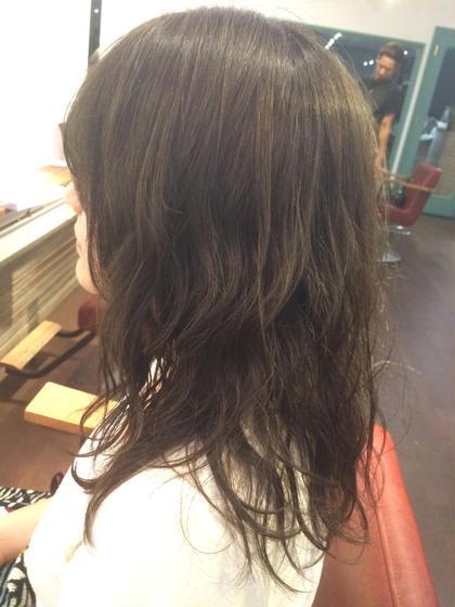 マットカラー✖️ウェット マーメイドウェーブで夏に向けて準備は万端です⛱ MOPS金沢文庫店所属・阿部加奈子のスタイル