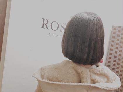 ふんわり柔らかなボブスタイル💕 rosso所属・長本未来のスタイル