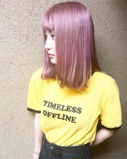 その他 カラー キッズ ネイル パーマ ヘアアレンジ マツエク・マツパ ミディアム メンズ 色落ちしたら白ピンク