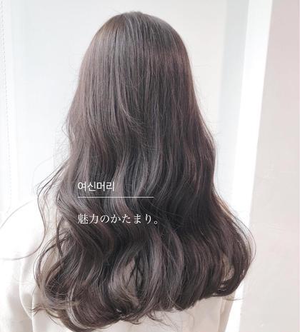 ❤️黒髪卒業❤️透明感カラー➕極上ヒアルロン酸トリートメント