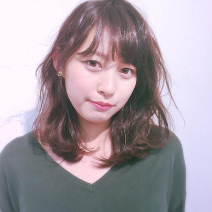 ブローで作るクセ感hair bloc所属・有山滉大のスタイル