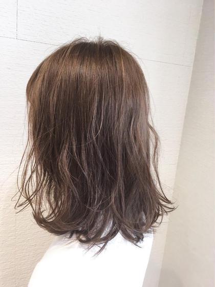 ❣️予約殺到❣️カット & ダメージレスヘアカラー & 美髪トリートメント