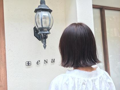 パツっと感を出した可愛い外ハネスタイルです♡ nary所属・高橋杏奈のスタイル