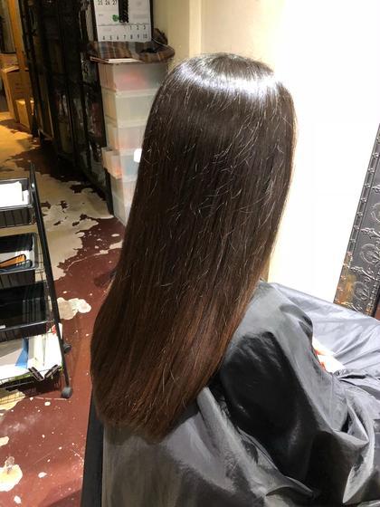 小野川幸のロングのヘアスタイル