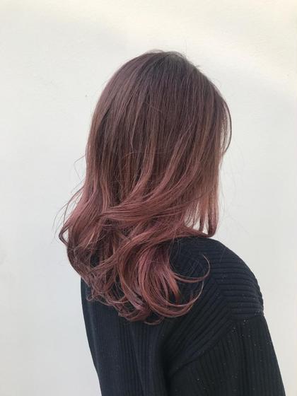 その他 カラー ロング  pink gradation ❤︎❤︎  ブリーチ必須です !