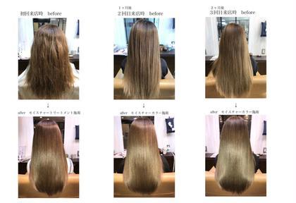 その他 パーマ ロング ストレート、縮毛矯正でも、トリートメントでもない新しい薬剤 『サイエンスアクア』  なんと!ダメージ0のメニューでブリーチ毛にも対応出来ます!  ツルツルで自分の髪でないぐらいの圧倒的な艶が出ます 詳しくはスナップフォトを見てください♪  オージュアの4ステージトリートメント、炭酸スパ付きのメニューです。  まだやった事がない方は是非体感ください♪人生が変わると思います^_^  非常に頑固な癖の方は出来ません。