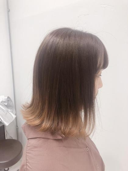 💛グラデーション➕毛量カット➕前髪カット➕トリートメント🧡