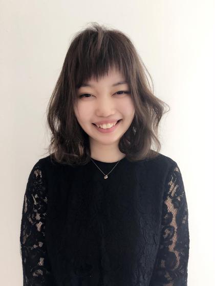 カット➕スタイリング   femme宝町店所属・松本唯希のスタイル