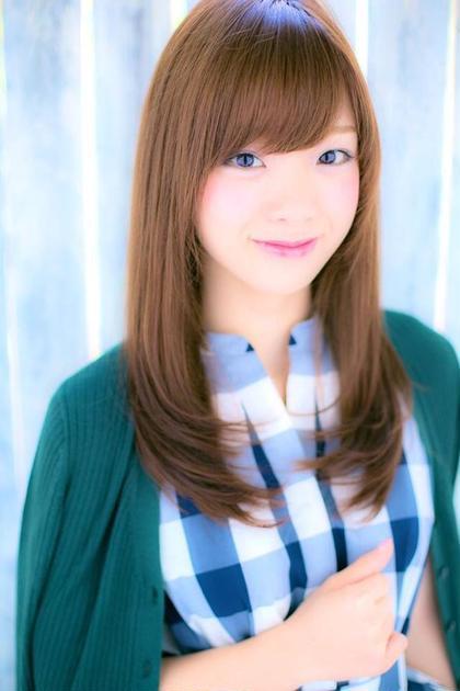ハーティムダイカンヤマ所属・ヒラヤマユウキ【透明感カラー前髪】のスタイル