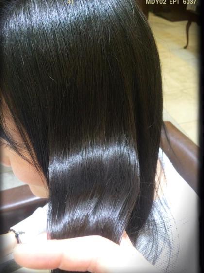 🥇乾燥してくる季節〜潤いましょう🎁こだわりのTOKIOインカラミトリートメント(前髪カット+シャンプーブロー付き)