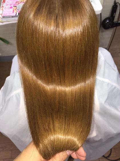 カラー+極潤サラ艶トリートメント Angel所属・hairsalonAngelのスタイル