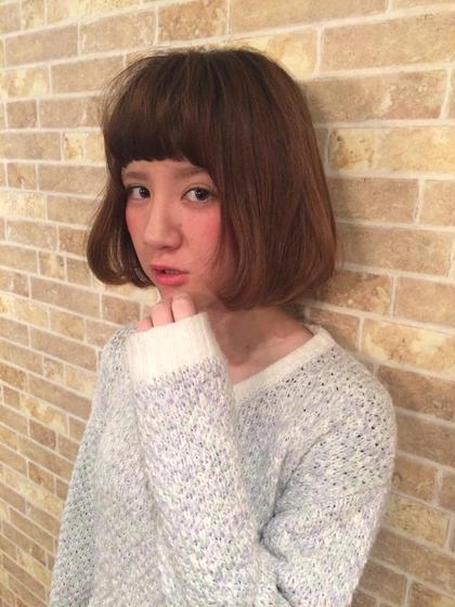 【人気No1】カット&プレミアムグレージュカラー&アミノ酸Tr