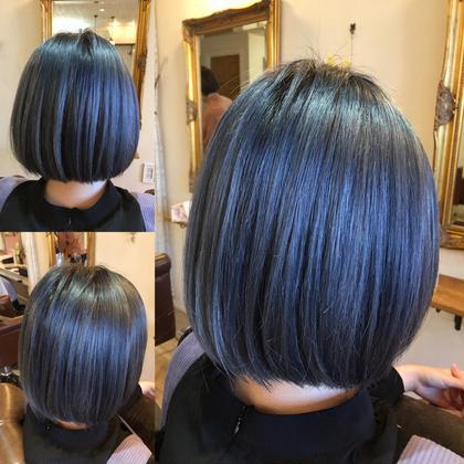 【学生の方限定】艶髪になります✨イルミナカラー+ハイライト+炭酸泉+潤いトリートメント+カット