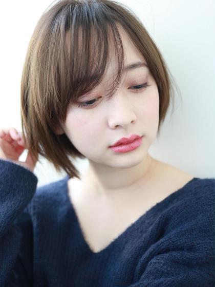 【時短】💫全体カット➕前髪縮毛矯正or前髪デジパ