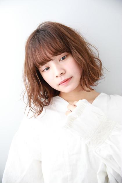 ❤️女子限定❤️前髪カット+透明感カラー+濃縮トリートメント