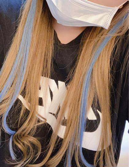 ヘアエクステ原色メッシュ【6本】