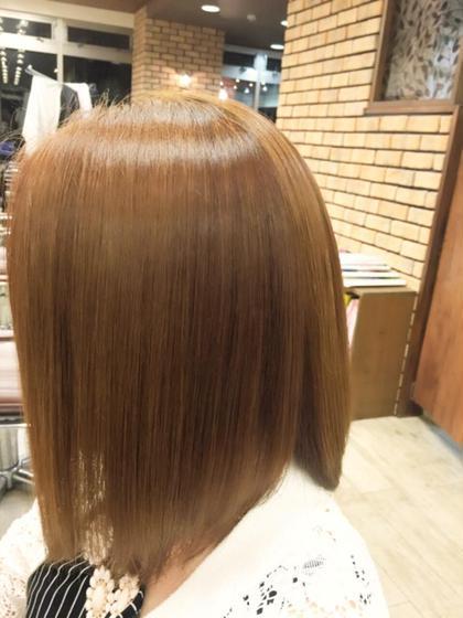 ツヤさらミディ☆ 乾かすだけでキレイにツヤがでるライトアッシュベージュです(^^♪ minim  hair (ミニムヘアー)所属・日比貴大のスタイル