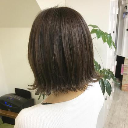 【平日限定❗️】✂︎オーガニックカラー&cut&treatment