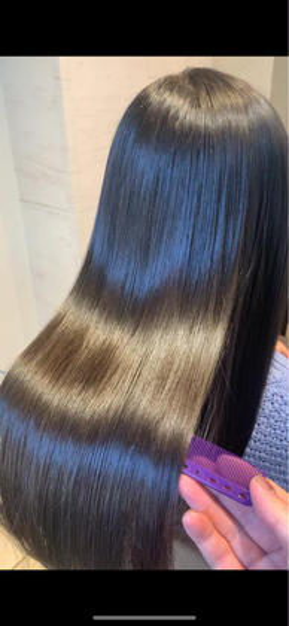 人気No1✨縮毛矯正+髪質改善トリートメント+最高級3stepトリートメント