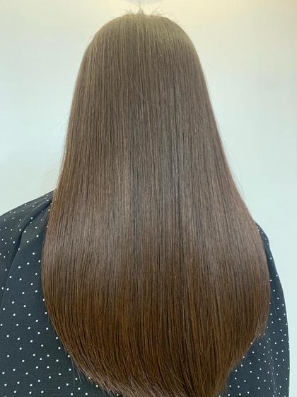 カット➕髪質ケアカラー➕縮毛矯正 ➕補修トリートメント✨