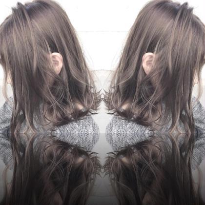話題のアディクシーカラー! 色味が濃いで深みのある色や、ハイトーンでもこの発色です! 是非ご体験を! ASUKAのヘアスタイル・ヘアカタログ