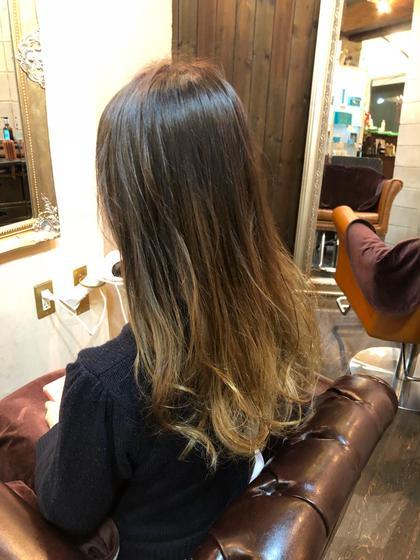 #本物すぎる外国人カラー #グラデーションカラー #ダメージレスブリーチ Hair DesignHaC所属・大山明洋のスタイル