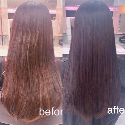 🍒ミニモ限定髪質改善メニュー🍒特別価格🌈カット➕カラー➕髪質改善🌈痛みやパサつきに悩んでいる方必見💗