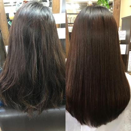 新規お試し 水、木曜限定。凸凹した髪をバーデンスエクストラリペアで整える