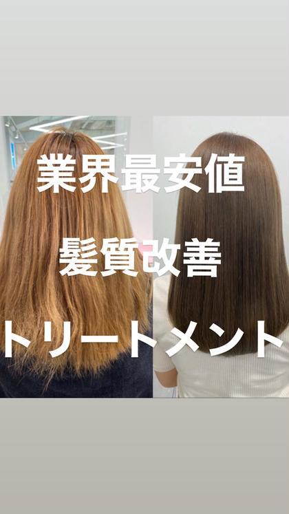 【髪質改善】🔥衝撃🔥酸熱トリートメント+TOKIOトリートメント