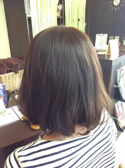 ヘアー&フェイスあんくるトム所属・谷田結菜のフォト