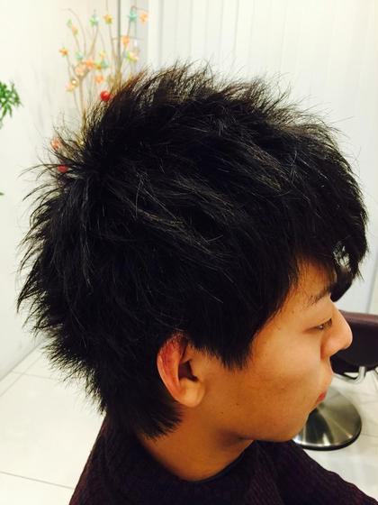 短めな短髪スタイルです! 爽やかをお求めの方はこちらで(^^) LUCK  by kiki所属・中村卓也のスタイル