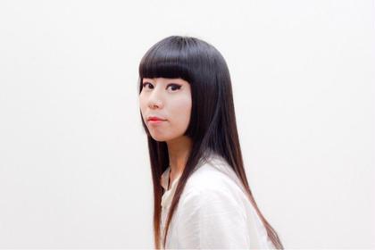 Japanese traditional princess hair.  ロングヘアも顔周りを切り込んでアクセントを付けると雰囲気が変わります。 hair atelier BoB.所属・高橋仁のスタイル