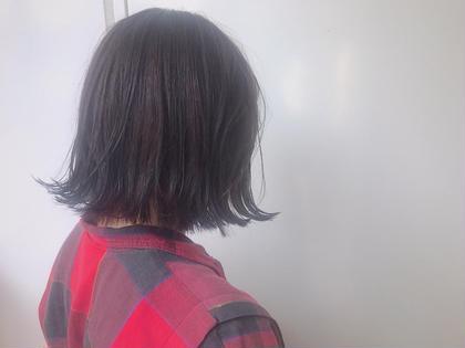 切りっぱなしポブラベンダーカラー G∀ME所属・副店長上野龍乃助のスタイル