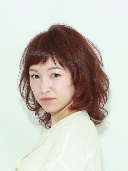 アプリコットピンクで大人可愛く ZEEN CHEREW所属・奥村妙子のスタイル