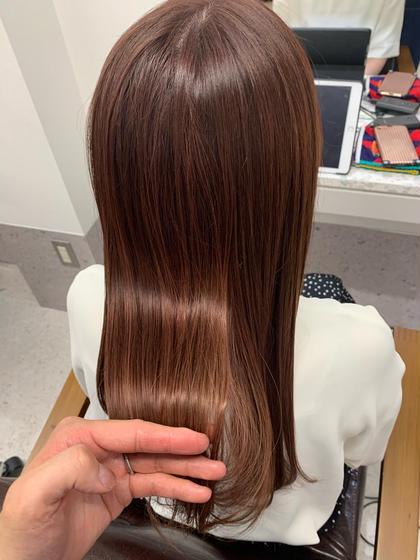 【奇跡のツヤ感】NIKO式髪質改善 酸熱トリートメント✖︎ミルボン11stepマイフォーストリートメント(ホームケア付)