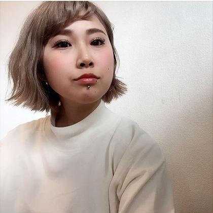 今大流行中の切りっぱなしボブ✂︎ Hair Clap所属・あびる翔太のスタイル