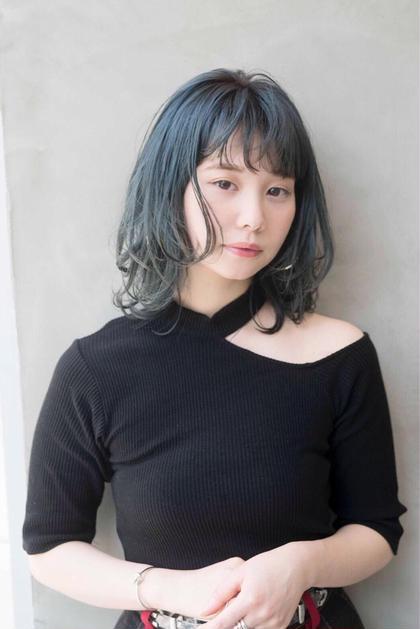 ⭐️✨Wカラー&似合わせカット&キューティクル補修トリートメント✨【#アオハル】
