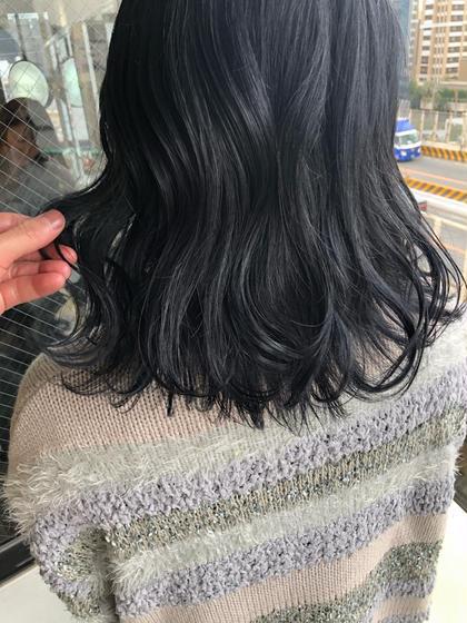 Luis梅田店所属の坂本優大color特化サロンのヘアカタログ