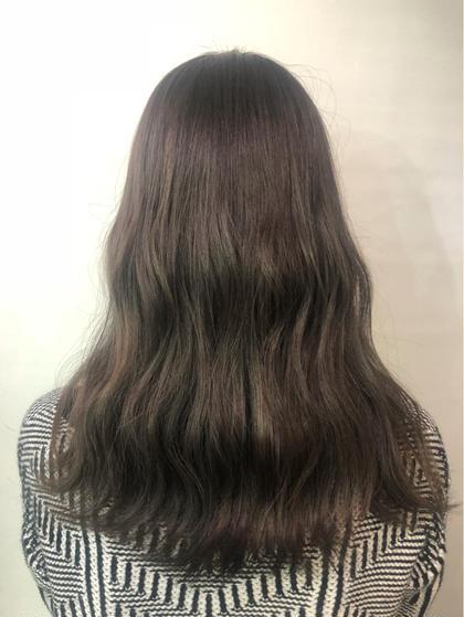 その他 カラー セミロング ハイライトをいれることで立体感のある巻き髪に♡!  巻くとより目立ちます♡