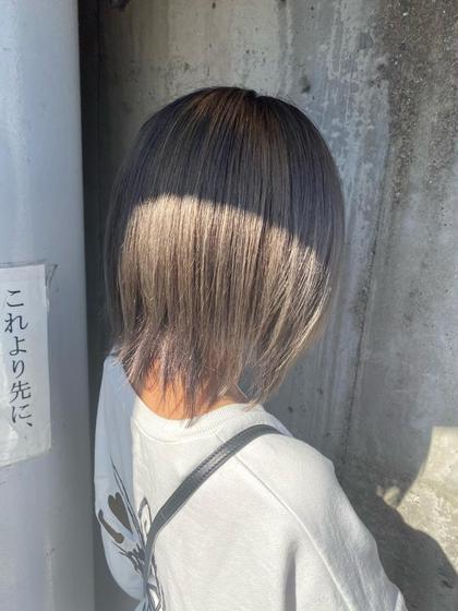 ✨ダブルカラー✨+髪質改善トリートメント