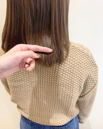 【艶サラっ♩】カット 髪質改善トリートメント