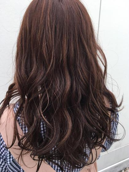 ピンクベージュハイライト HAIR&MAKEEARTH所属・宍戸海斗のスタイル