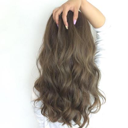 ロング 巻き✨ Hair Make Ash所属・大山晃介のスタイル