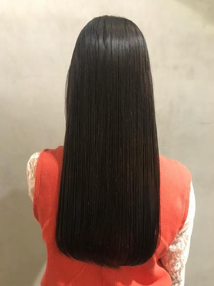 艶髪ストレートパーマ+トリートメント