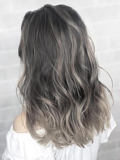 【ミニモ限定】グラデーション+フルカラー+髪質改善Tr(ケラリファイン)