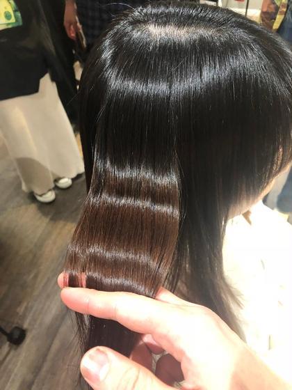 「ご新規様」ノンダメージホリスティック縮毛矯正+潤艶トリートメント+コテ巻き無料