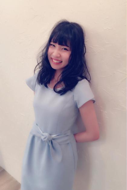 黒髪でも柔らかくふんわりとしたイメージで☆ Lumie所属・スタイリスト 佐々木祐希のスタイル