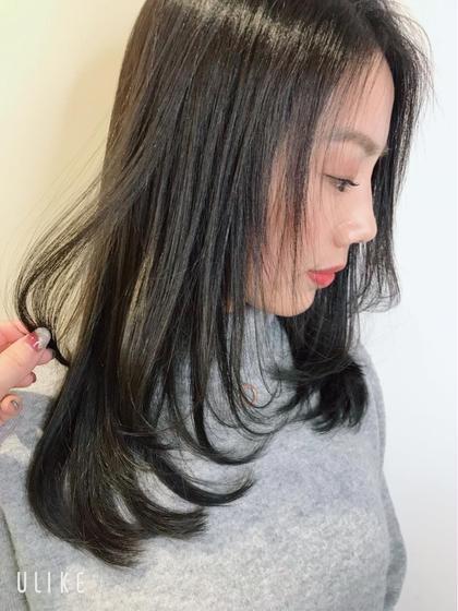 🌷就活生応援クーポン🌷自然な黒染めカラー&小顔似合わせカット&ハホニコスチームトリートメント✨土日祝日は+¥1000
